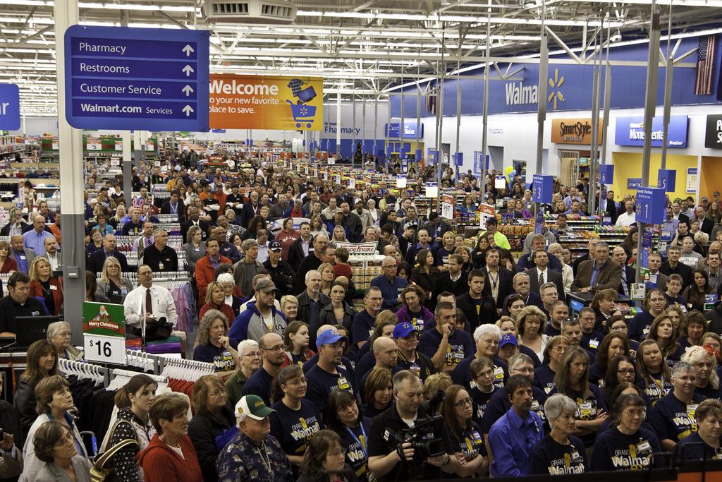 Joplin Missouri Walmart Reopens after the EF5 tornado in May 201